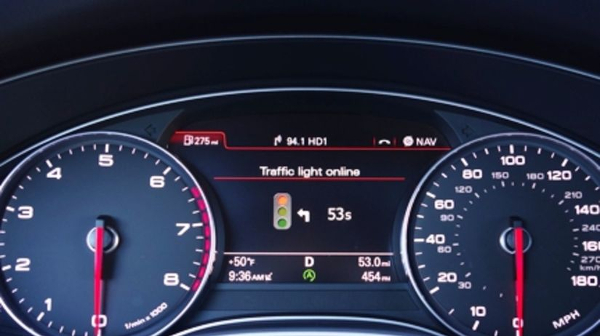 1_ Hamburg Audi traffic-light-assist dash