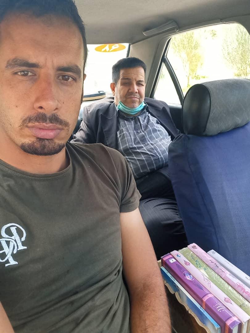 راننده تاکسی بی سیم در قزوین