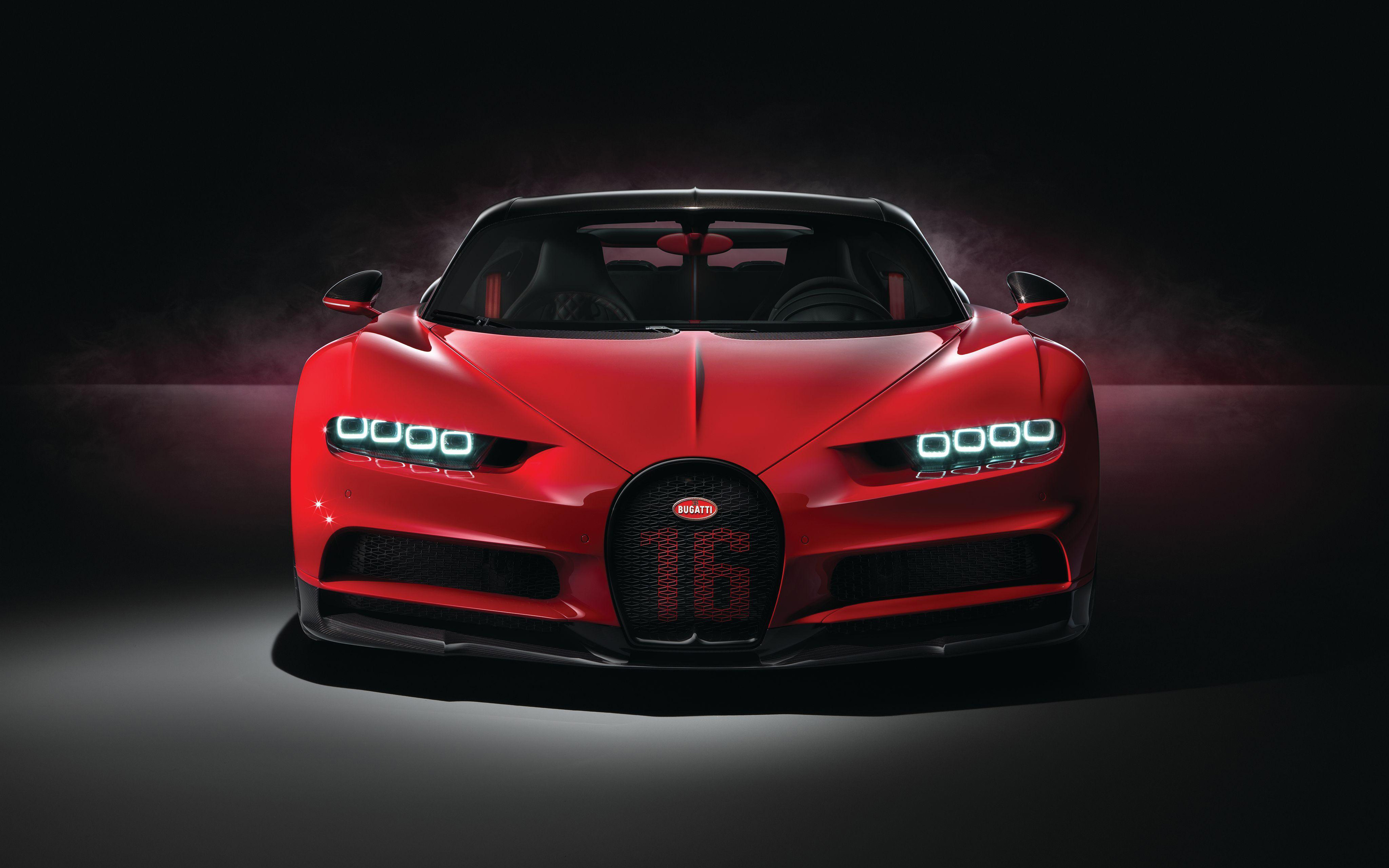 4k-bugatti-chiron-sport-front-view-2018-cars-red-chiron