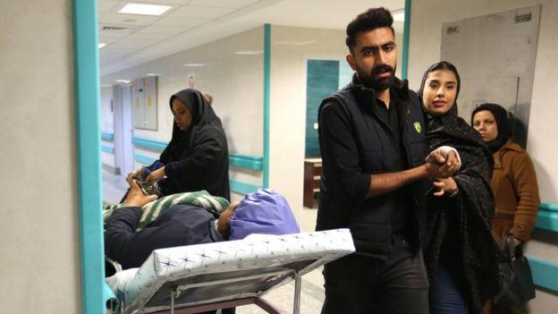مصدومان حادثه کرمان