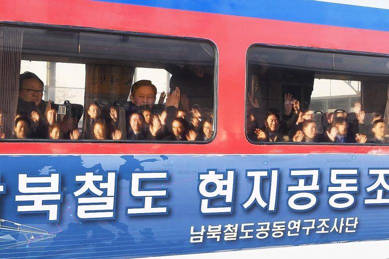 راه آهن کره