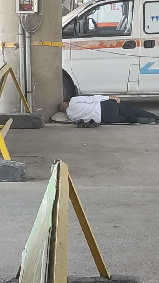 استراحت رانندگان فرودگاه امام