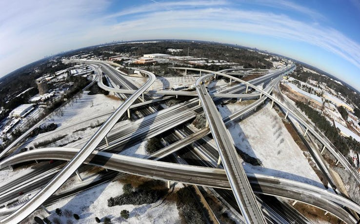 Spaghetti Junction - Atlanta_ USA