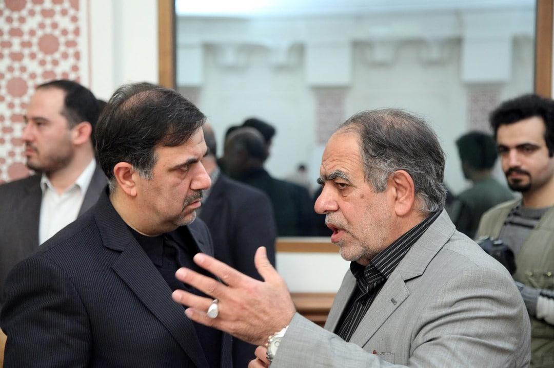 اکبر ترکان و عباس آخوندی