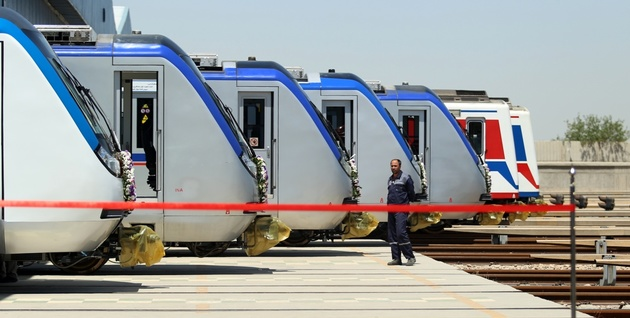 ۶۶ واگن جدید به ناوگان مترو تهران افزوده شد