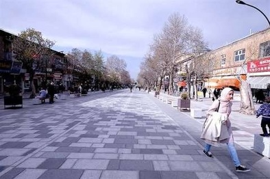 پیاده راه خیابان امیرکبیر اراک به بهرهبرداری رسید