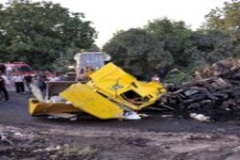 واژگونی خودرو در دروازه قرآن شیراز یک کشته برجا گذاشت