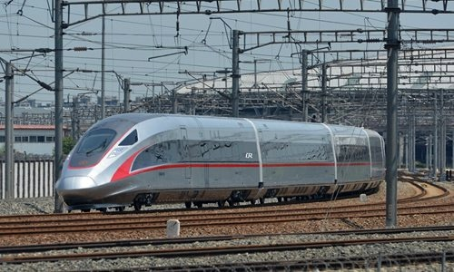 China introduces new high-speed Fuxing train