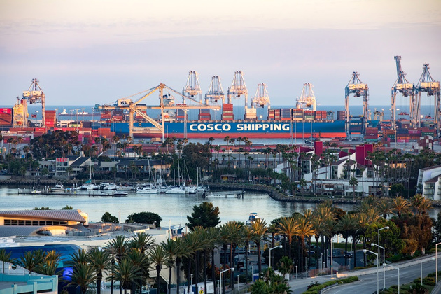 Trade War Hits Port of Long Beach Cargo Volumes