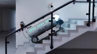 ربات ساختمانی که کمک به جوشکاری و آجرچینی می کند