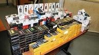 توقیف دومین محموله قلیان الکترونیکی قاچاق در بندر خرمشهر