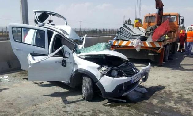 42 کودک در سوانح جاده ای همدان جان باختند