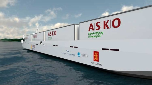 Norwegian partners to develop autonomous zero emission Ro-Ro vessels