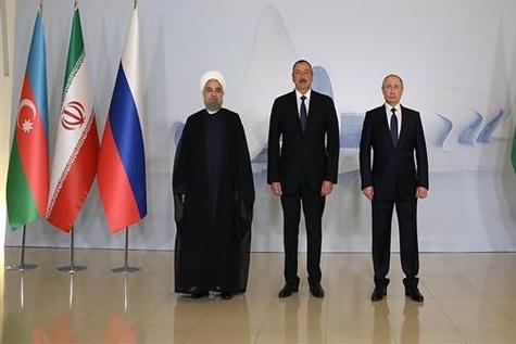 Tehran to Host Iran-Russia-Azerbaijan Summit Wednesday
