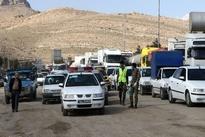 ترافیک سنگین در جادههای منتهی به شیراز