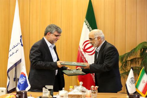 دانشگاه صنعتیامیرکبیر و سازمان بنادر و دریانوردی تفاهمنامه همکاری امضای کردند