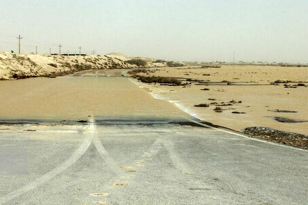 مسدود شدن محورهای راور_دیهوک و راور -بهاباد