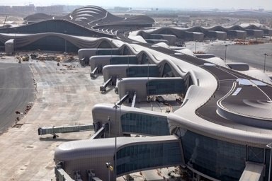 Abu Dhabi's new Midfield Terminal undergoes operational trials