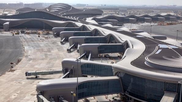 Abu Dhabi's new Midfield Terminal undergoes operational trials