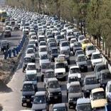 ترافیک سنگین در آزاد راه های زنجان حاکم است