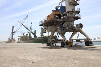 افزایش صادرات مواد معدنی از بزرگترین بندر اقیانوسی کشور