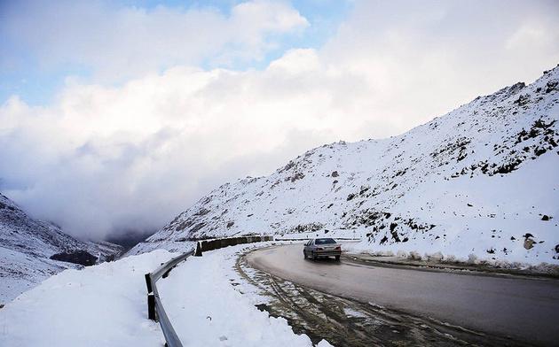سرمای زیر صفر درجه در ۲۰ استان و وزش باد شدید در تهران