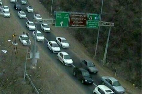 وضعیت راه ها / ۲۱ آذر