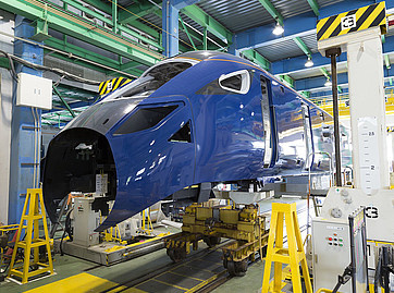 Hitachi trainsets for Hull Trains under construction