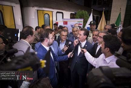 راهاندازی اولین قطار مسافری تهران - آنکارا
