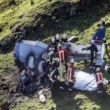سقوط یک هواپیمای سوئیسی با 3 کشته