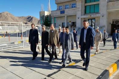 بازدید سرپرست معاونت سیاسی، امنیتی و اجتماعی استانداری خراسان رضوی از پایانه مرزی باجگیران