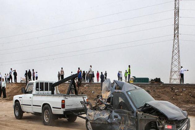 تصادف مرگبار در اتوبان قزوین