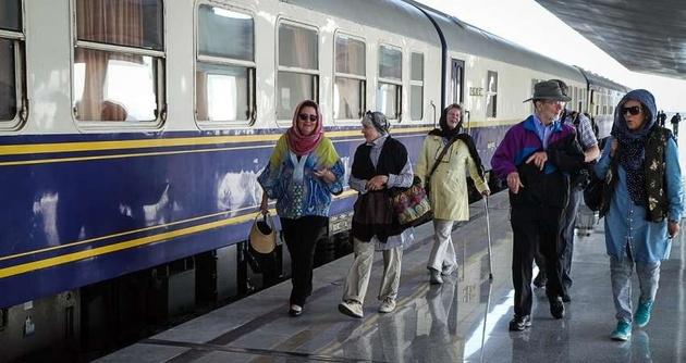 بیست و چهارمین قطار گردشگری بینالمللی وارد کشور شد