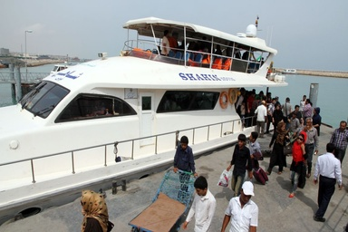 ملزم به ارائه خدمات مسافری دریایی در ایام تعطیل هستیم