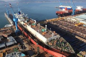 سلطه دوباره کره بر صنعت کشتیسازی جهان