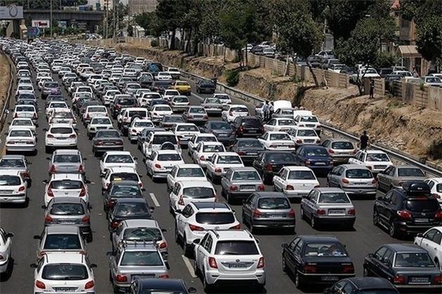 اعمال محدودیتهای گسترده جادهای