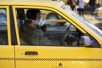 تصویر | رعایت کرونا در تاکسی تهران