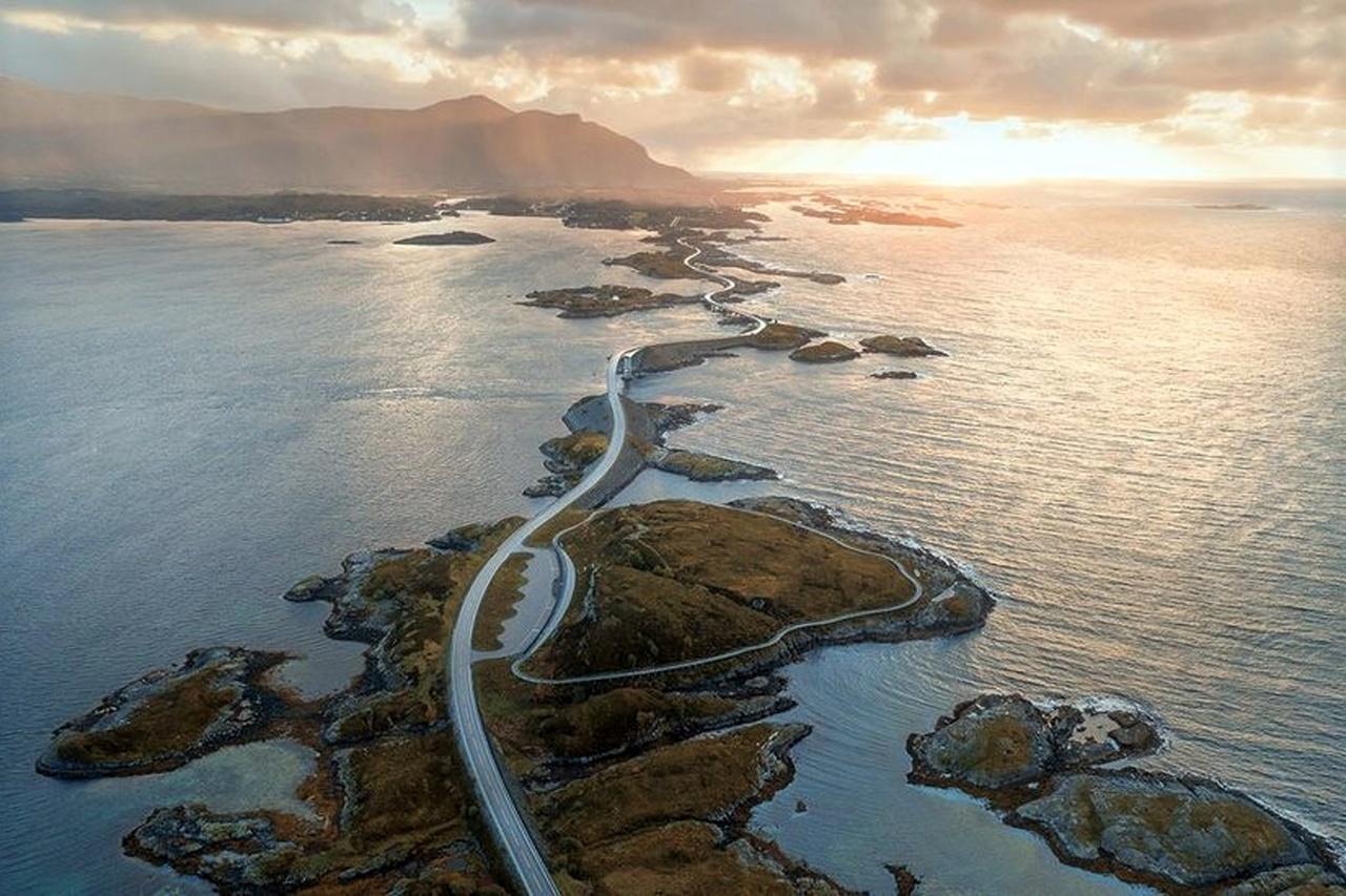 8- جاده آتلانتیک اوشن(Atlantic Ocean)، نروژ