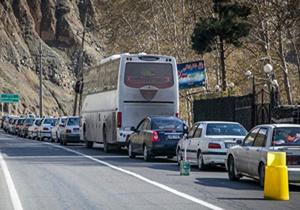 ورود کامیون در جاده هراز ممنوع