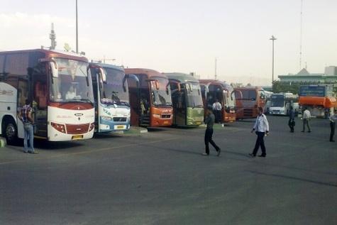 جابهجایی بیش از ۲۰۱ هزار مسافر از پایانههای مسافربری قزوین