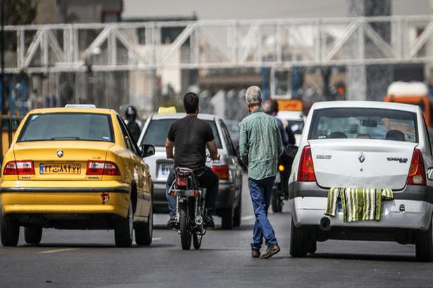 برخورد با خودروهای پلاک مخدوش در شرق تهران