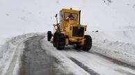 هیچ جادهای به خاطر برف و کولاک بسته نیست