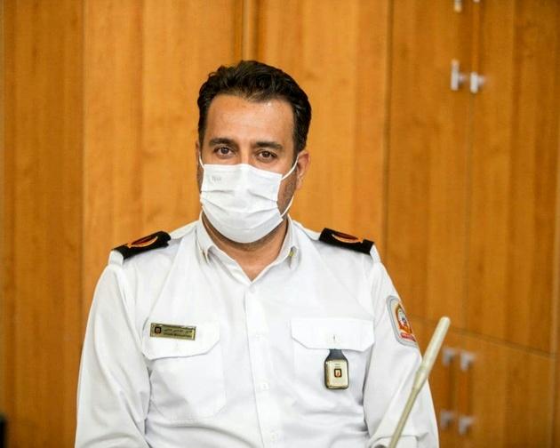 کاهش ۱۷ درصدی عملیات در سازمان آتش نشانی شهرداری قزوین