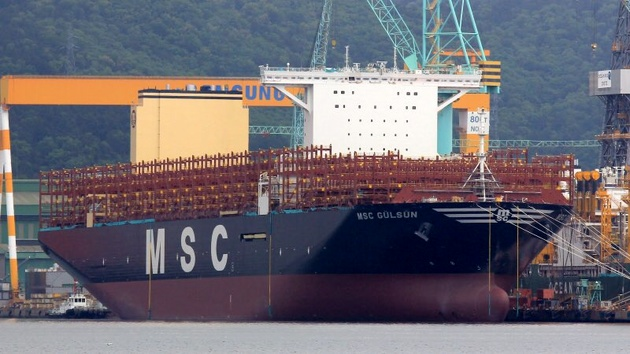 Samsung Heavy Delivers World's Largest Containership to MSC