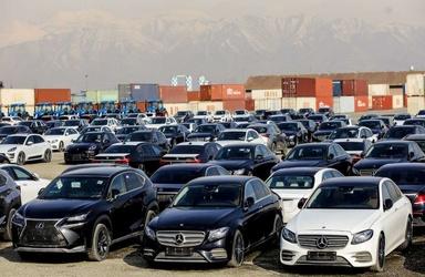 دپو خودروهای میلیاردی در گمرک غرب تهران