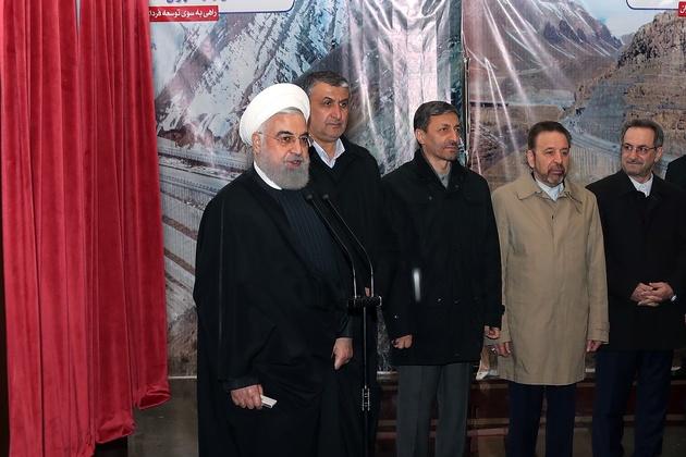 روحانی: عوارض قطعه یک آزادراه تهران- شمال صرف ساخت قطعه دوم میشود