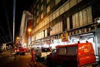 مهار آتش در طبقه ششم پاساژ علاءالدین
