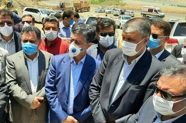 آغاز عملیات اجرایی یک قطعه از محور خطرخیز خرمآباد-پلدختر
