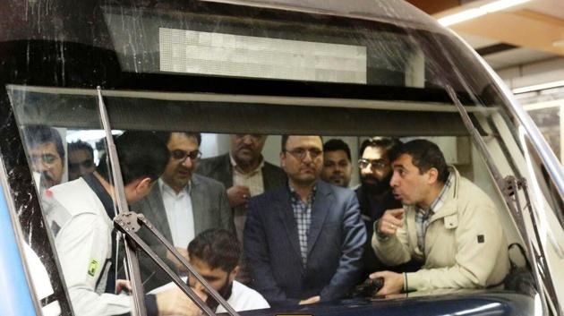 تست گرم فاز دوم  خط7 متروی تهران با موفقیت انجام شد