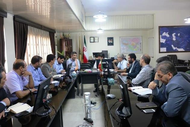 برگزاری جلسه هماندیشی حمل محصولات صادرات ذوبآهن در ادارهکل راهآهن هرمزگان
